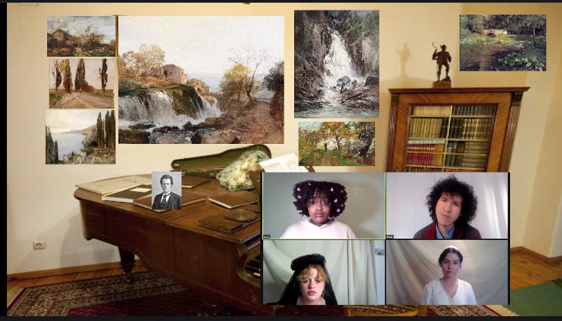 Library Quartet; Artis Anderson, David Letman, Emma Waters, Seraphim Fuhrer
